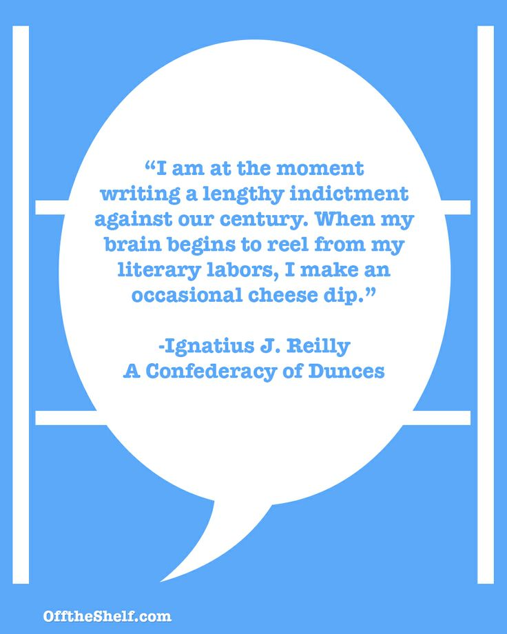 "confederacy of dunces essay After ""confederacy of dunces"" was published posthumously, toole's family  looked through his stuff and found this essay he wrote for high."