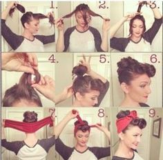 Groovy 1000 Ideas About Rosie The Riveter Hair On Pinterest Catwoman Short Hairstyles For Black Women Fulllsitofus