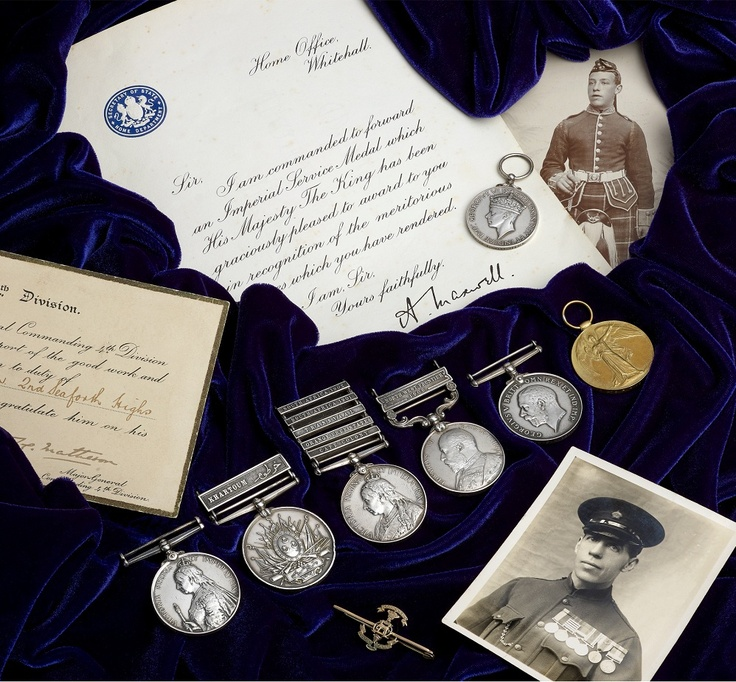 Sudan, Boer & Great War Medal group to Private Yeoman, Seaforth Highlanders