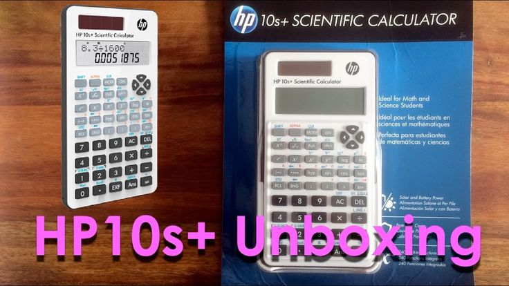 HP10s+ Calculator Unboxing Video - First Look - Linear Display