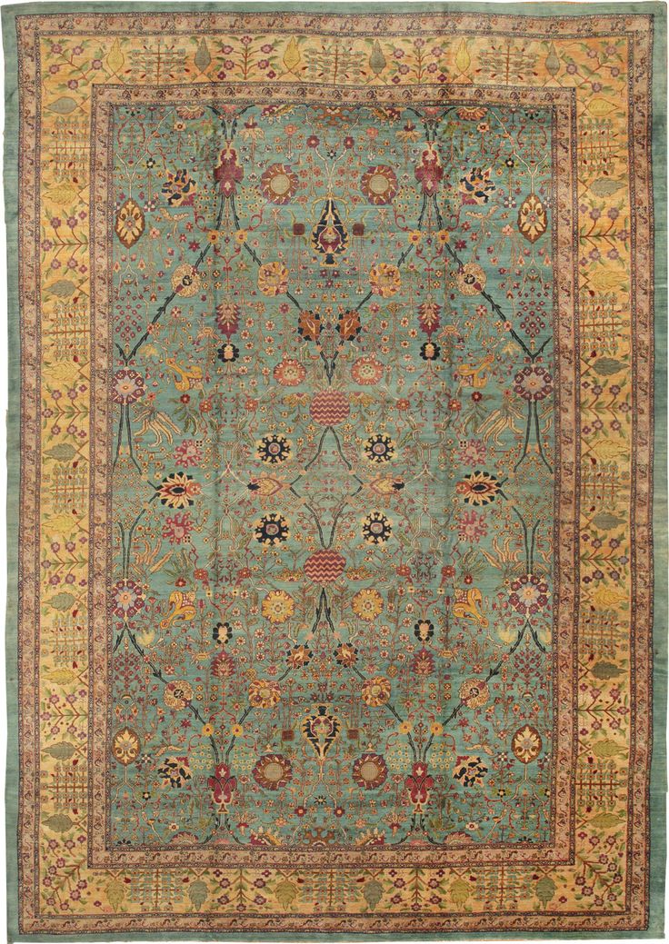 Antique Agra Oriental Rug 40317 Main Image By Nazmiyal
