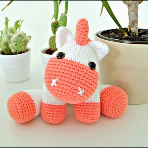 Patrón Unicornio bebé