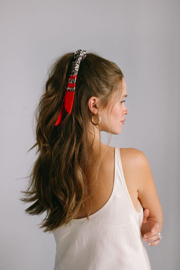 5 WAYS TO STYLE A BANDANA   Quick & Easy Hair Tutorials IG Valeria Lipovetsky
