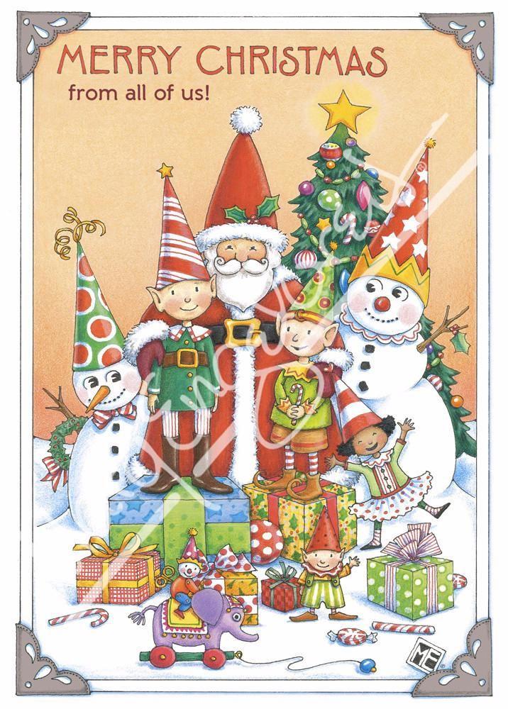 Xmas Funny Christmas Carefully selected card NEW Greeting Card