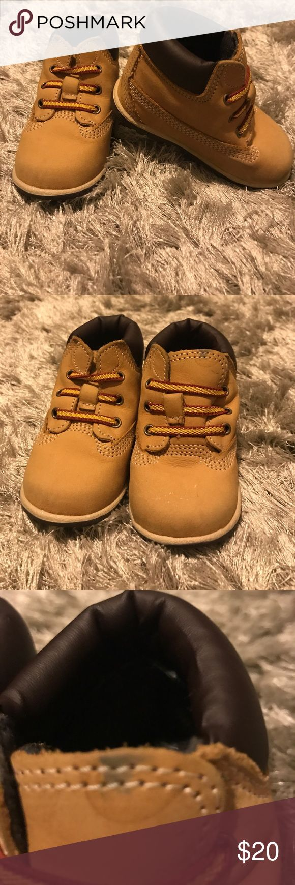 Baby timberlands Baby timberlands. Good condition. Has one small spot. Comes with original box Timberland Shoes Boots