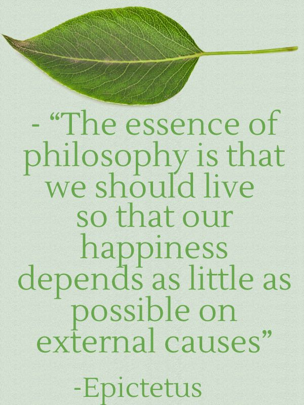 Minimalist Stoic philosophy.