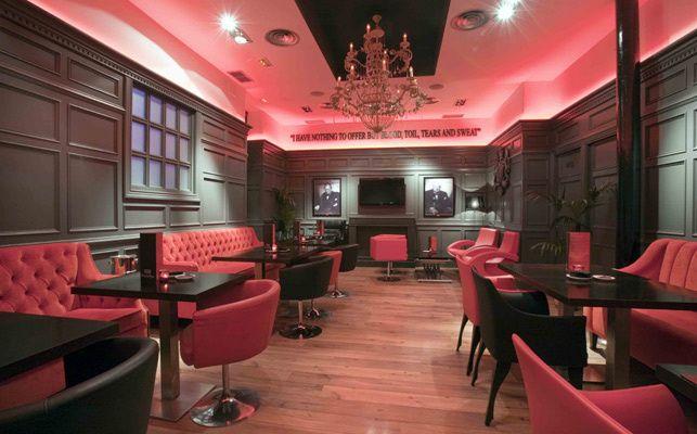 Bristol Bar, Madrid ... Best Gin Tonics :)