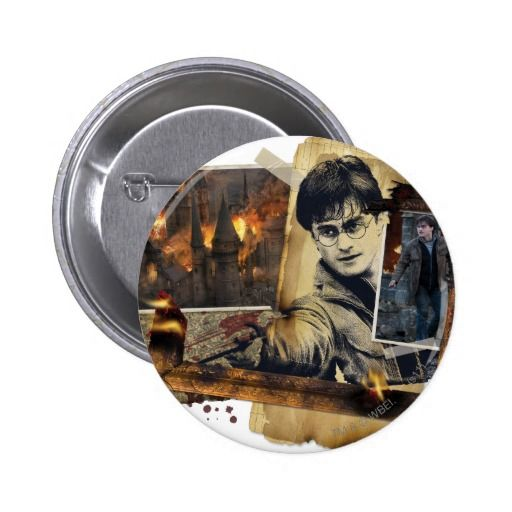 Harry Potter Collage 7 6 Cm Round Badge