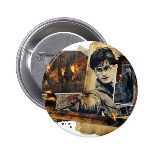 Harry Potter Collage 7 6 Cm Round Badge