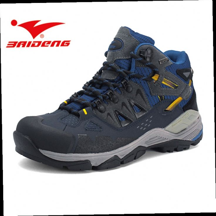 46.89$  Watch now - http://alizh7.worldwells.pw/go.php?t=32710246834 - Baideng mens shoes sales hiking shoes Autumn Winter trekking hiking boots waterproof Climbing shoes sneakers zapatillas hombre