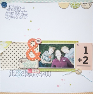 A Reluctant Photo by marcypenner at Studio CalicoScrapbook Ideas, Scrapbook Kits, Crafts Ideas, Scrapbook Inspiration, Reluctant Photos, Studios Calico, Half Circles, Scrapbook Layout, Marcy Penner
