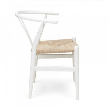 Design Stoel Wishbone Chair White