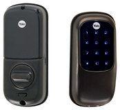 Yale - Key-Free Touch-Screen Deadbolt Lock - Oil-Rubbed Bronze