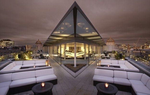Splendido rooftop bar a Londra