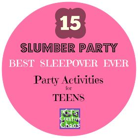 15 Slumber Party Games for Teen Girls: Best Sleepover Ever