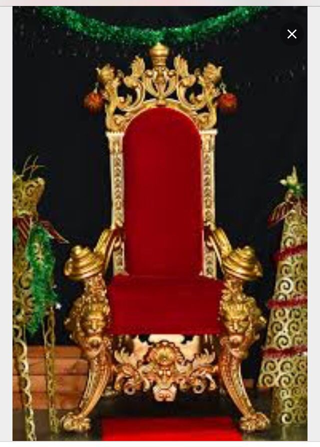 17 Best Images About Santa Chairs Throne On Pinterest
