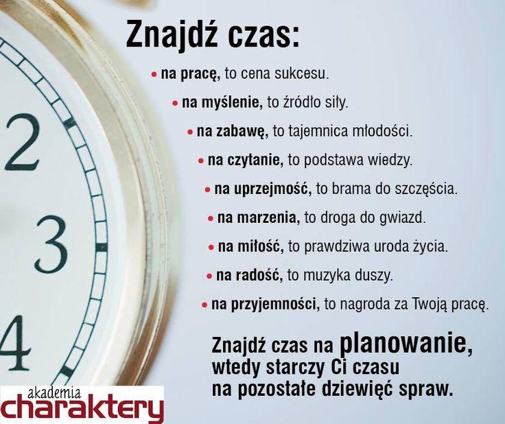 Znajdź czas.  #onepress #cytat #motywacja #czas