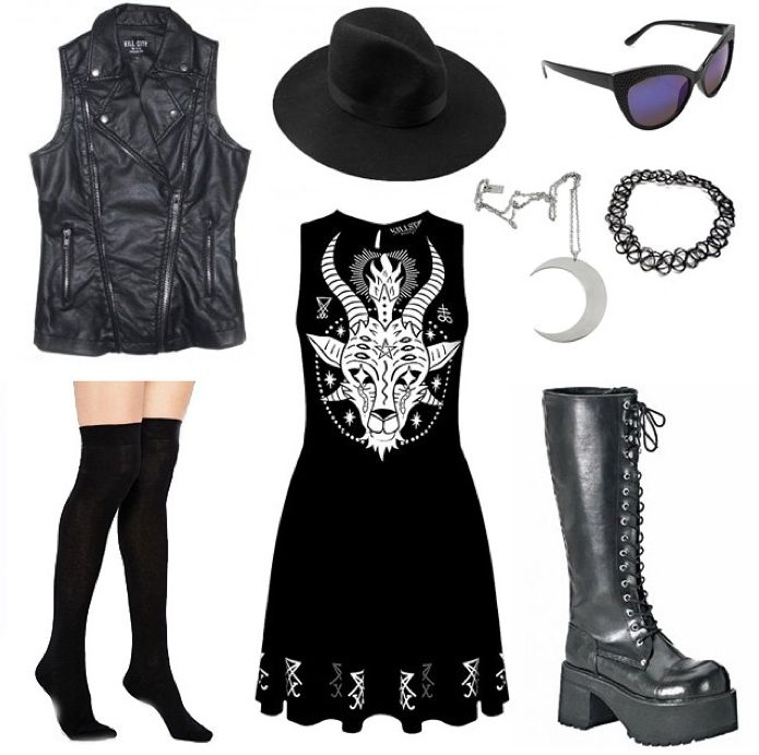 Outfit inspo! #outfitinspiration #outfitideas #festivalstyle #killstar…