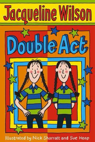 Everyone would fight to get the Jacqueline Wilson books in the school library! They were the coolest thing out. It was a while after until I managed to bagsy my first one, which was this! (Double Act). I thought they would be overrated but actually I have since bought every book released and met the lady herself at a book signing. I'm 23 and still read them today! They're just pure brilliant. An amazing talent!