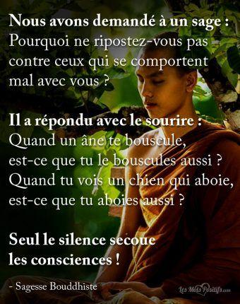 Seul le silence secoue les consciences !