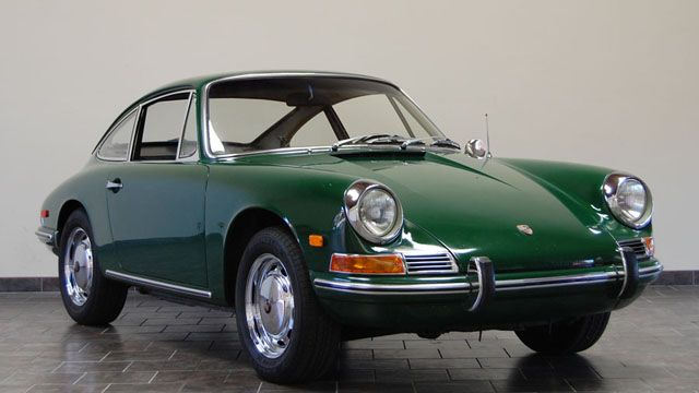 Cars - Previously Sold - Porsche 912 - 1968 Porsche 912 Coupe - Irish Green - CPR Classic