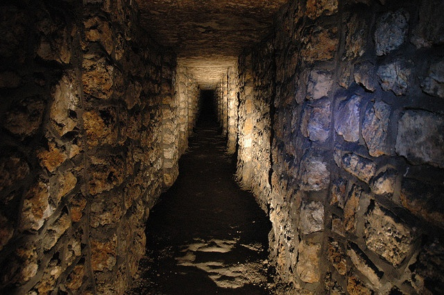 "For ""Catacombs"", (Paris catacombs)"