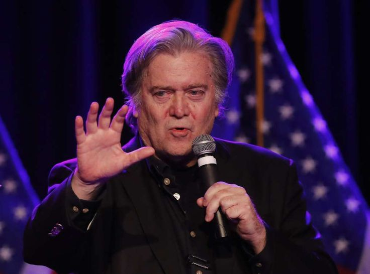 Double-barreled Bannon: He targets both Mississippi GOP senators   -  November 25, 2017.   Image: Steve BannonSteve Bannon, the former chief strategist to President Donald Trump, speaks at the Macomb County Republican Party dinner on Nov. 8, 2017, in Warren, Michigan.