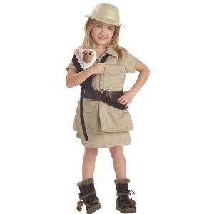 Safari or Zookeeper Costume and Monkey