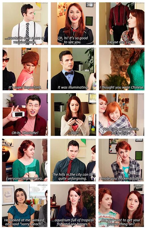 The Lizzie Bennet Diaries - the words and expressions that will never be same <3