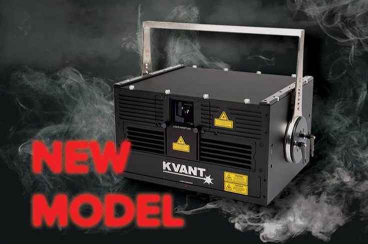 """Presented at LDI 2016, the new ATOM 20 """"LD"""" is 20W of raw pure diode technology, with Pangolin Laser Systems Saturn 9 optical scanning system and integrated FB4 media server all combined in new unit from KVANT, to give you a stunning OPSL feeling at a pure diode price range.  LD stands for low divergence, and"""