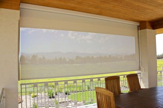 16 best Exterior Roller Shades images on Pinterest | Patio shade ...