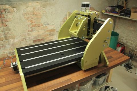 Let me present my new CNC – RCExplorer
