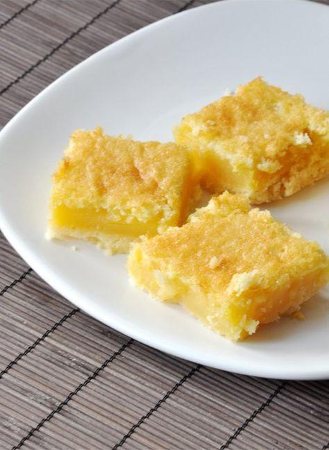 Citromos-bazsalikomos sütemény
