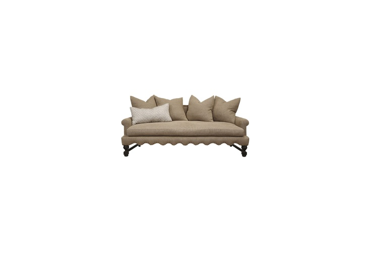 One Kings Lane - Take a Seat - Abby Sofa-- I like the lines of this sofa