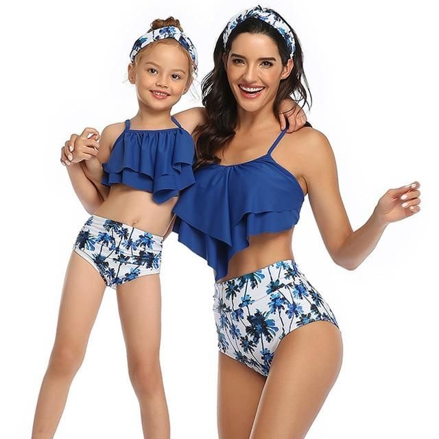Me and mini me  Mommie and me swimsuit Swimsuit for girlswimwear baby girl swimsuit  bikini bottoms girl swimsuitmom and daughter