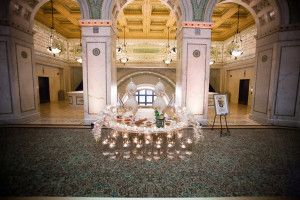 #sweetheart #table #decor #reception #at #chicago #cultural #center