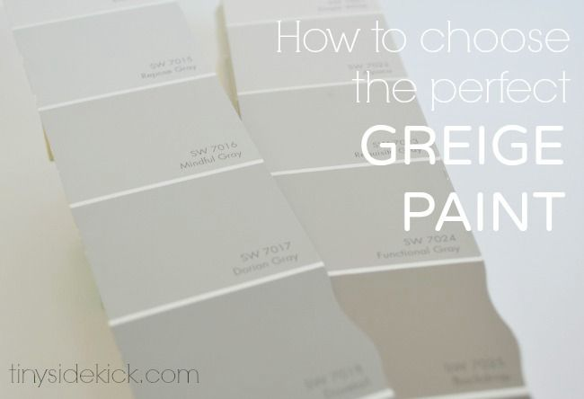How to Choose the Perfect Greige Paint