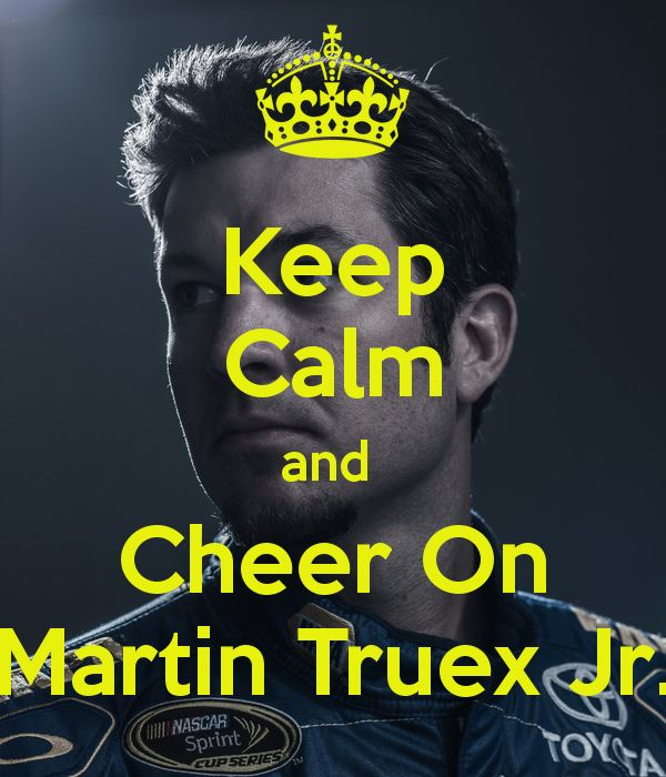 Martin Truex Jr.  yes yes yes!