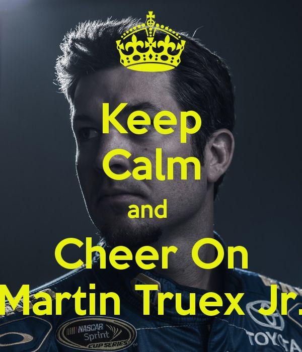 Martin Truex Jr.  yes yes yes!