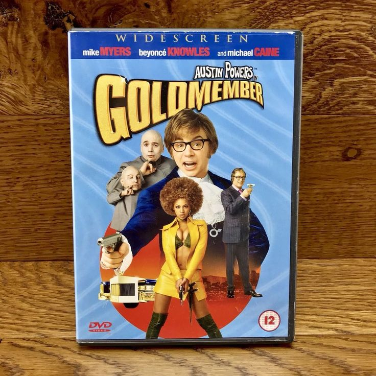 Austin Powers Goldmember DVD Film Movie 2002 Mike Myers Beyonce Knowles region 2
