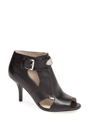 MICHAEL Michael Kors 'MK Plate' Bootie available at #Nordstrom  2 1/2 inch heel perfect!!