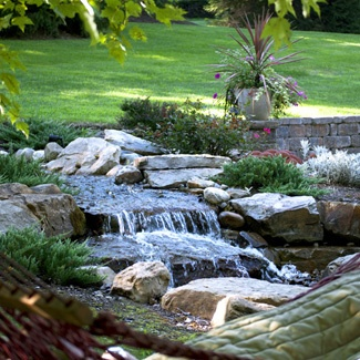 River Rock Waterfall Fountains Of Every Size Pinterest