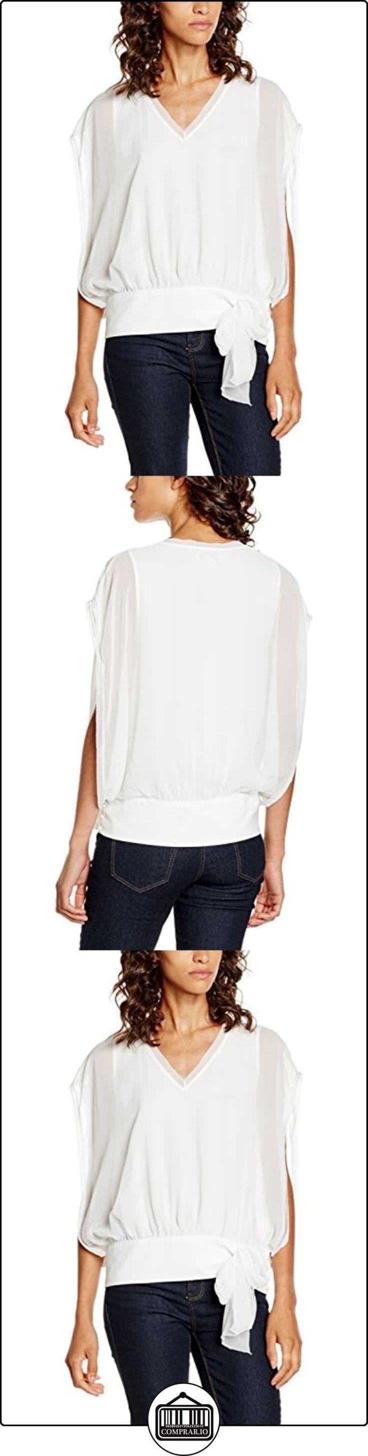Cortefiel 2.Gym.M.Blusa Lazo, Blusa para Mujer, Beige, XS  ✿ Blusas y camisas ✿
