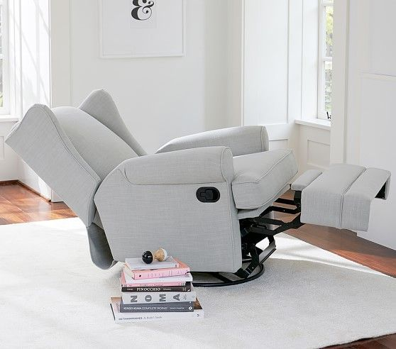 Wingback Rocker & Recliner | Pottery Barn Kids