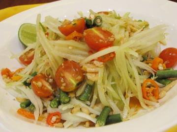 Som Tum (Thai Raw Papaya Salad)
