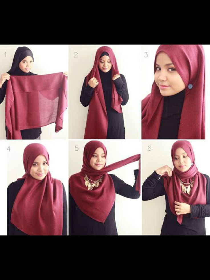 TUTORIAL HIJAB 10