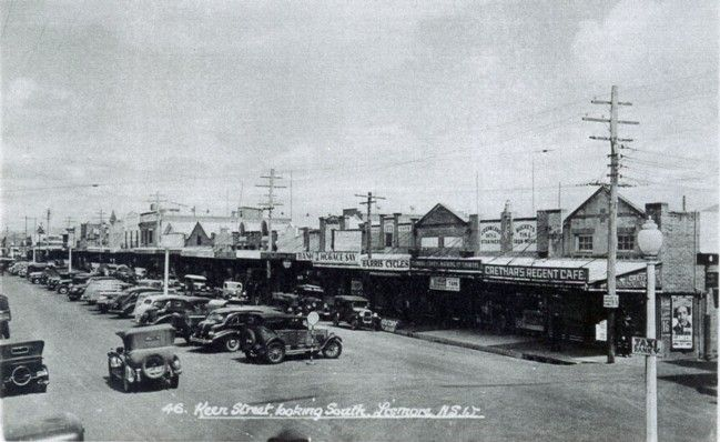 Keen Street, Lismore - 1938