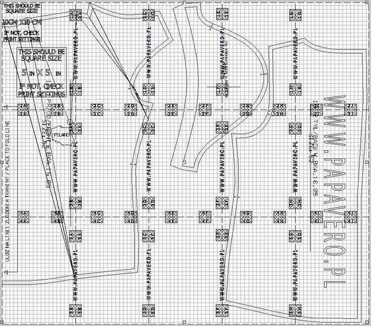 #5, Szablon do pobrania, free sewing pattern.
