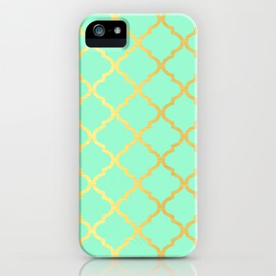 Moroccan Mint iPhone & iPod Case by Courtney Danielle Smith - $35.00