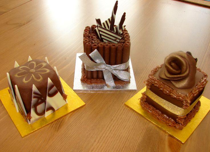 My Cake Decorating Gr Facebook : My Cake Decorating Adventure   5: Mini Chocolate Cakes ...